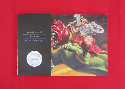 SDCC 2009 The Art of Masters Of The Universe Book 115 of 1000 MOTU He-Man Heman