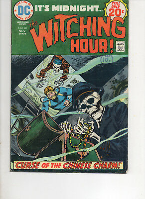 The Witching Hour 48 Fine 1974 Dc Bronze Age Comic