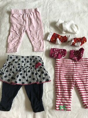 A Large Bundle Of Baby Girl Clothes Size 0-3 Months