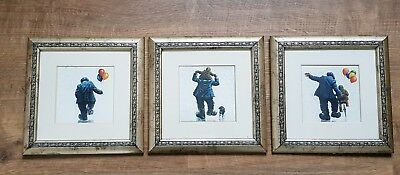 Alexander Millar - Three Framed and Mounted Cards