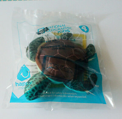 GREEN SEA TURTLE PLÜSCH-TIER NATIONAL GEOGRAPHIC KIDS NEU&OVP McDonald's USA TOP