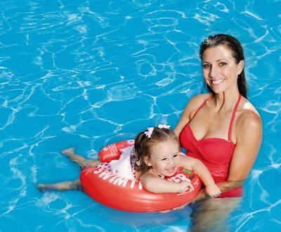 Swimming Trainer Swim Learning Help for Baby AB 3 mon-4 Years in Red NEW