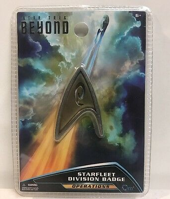 Star Trek Beyond QMx Magnetic Insignia Starfleet Operations Division Badge , New