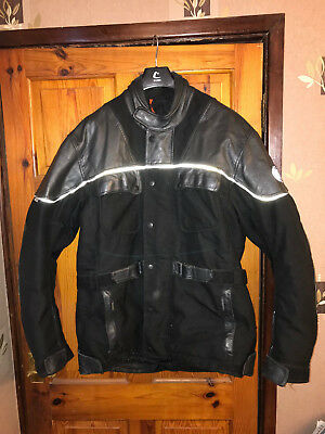 Mens Motorcycle/bike 3 Quarter Jacket