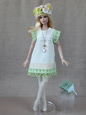 "Tonner Antoinette outfit ""Make it count"" handmade dress 16"" fashion doll clothes"