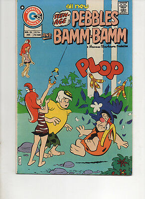 Pebbles And Bamm-Bamm 28 Very Fine 1975 Charlton Bronze Age Comic
