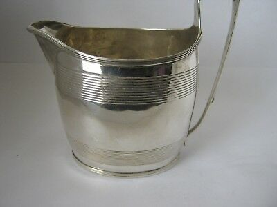 Solid Silver Cream / Milk  Jug made in London in 1799 by Thomas Wallis