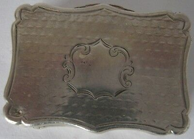 Antique Solid Silver Vinaigrette Made in Birmingham by Nathaniel Mills 1800's
