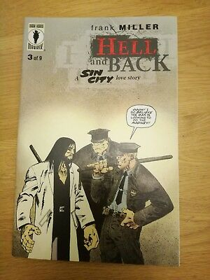 Sin City Hell and Back #3 first print Miller near mint NM