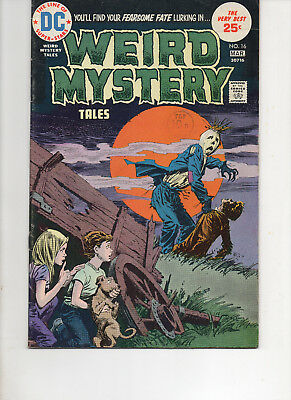 Weird Mystery 16 Very Fine+ 1975 Dc Bronze Age Comic