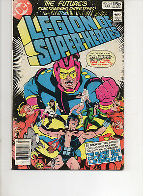 The Legion Of Super-Heroes 262 Very Fine  1980 Dc Bronze Age Comic