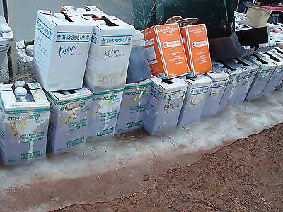 40 cubes of used cooking oil for $1
