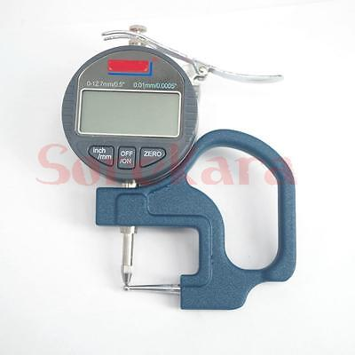 Digital Tube Thickness Guage Measuring Instrument Tube Micrometer Machinist Tool