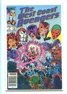 West Coast Avengers #2 Hi Grade Canadian Price Variant Explosive Cover
