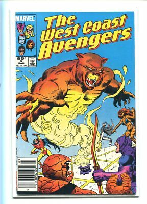 West Coast Avengers #6 Hi Grade Canadian Price Variant Terrifying Cover