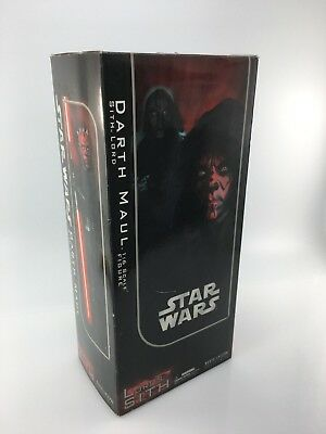 Sideshow Collectibles STAR WARS Darth Maul USED1:6 Scale 1/6 Incomplete