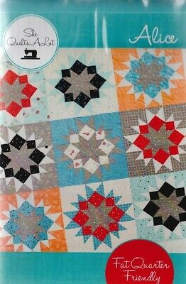 "Quilt Pattern Ribbon Quilts /""Jake/'s Wave/"" by Heidi Farmer"