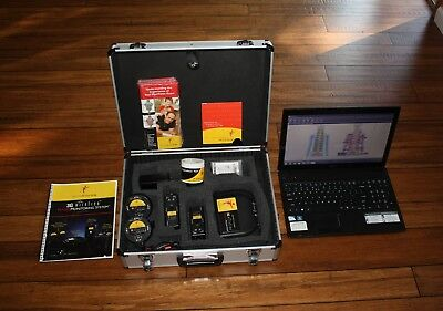Myovision 3G Wireless Static sEMG ROM Chiropractor System and Laptop