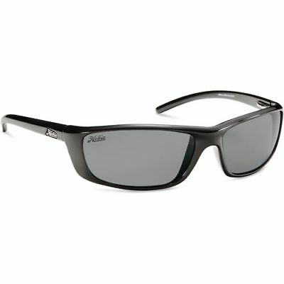 cd29e3d99c5 HOBIE VALLEJO POLARIZED Sunglasses Satin Black grey lenses