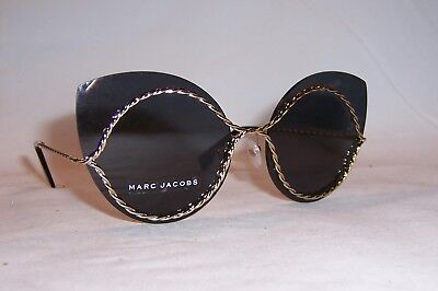 015f0aa0a8f8 MARC JACOBS WOMEN'S Marc161s Polarized Cateye Sunglasses, GOLD, 61 ...