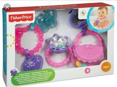 FISHER PRICE Little Glamour Rattle Gift Set
