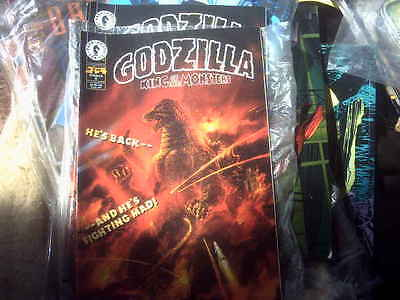 GODZILLA  Dark Horse Comic GODZILLA KING OF MONSTERS
