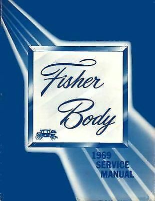 1969  FISHER CADILLAC SHOPSERVICE Manual CHEVROLET PONTIAC BUICK OLDS