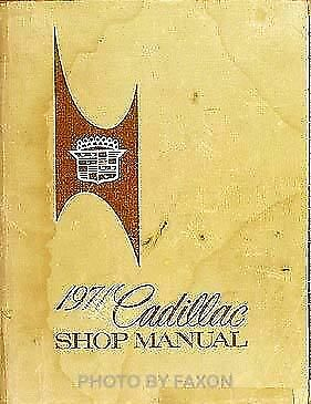 1971  CADILLAC SHOPSERVICE Manual MINT NOS IN BOX