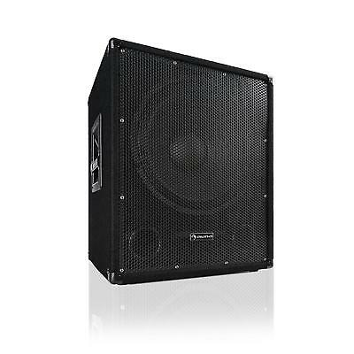 "Aktiver PA Subwoofer DJ Party 600 Watt 15"" 38 cm Bass-Lautsprecher Boxen"