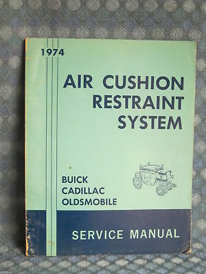 1974  FISHER CADILLAC SHOPSERVICE Manual CHEVROLET PONTIAC BUICK OLDS