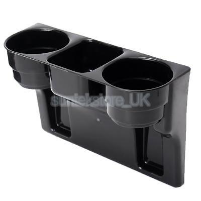 Auto Seat Gap Wedge Cup Holder Car Storage Box Food Bottle Mount Stand