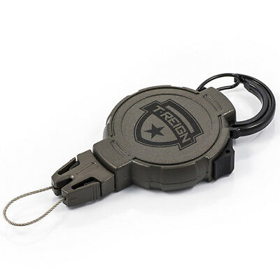 """T-REIGN Outdoor Products Retractable Gear Tether Hunting Large 10-48"""" 0TR0-025"""
