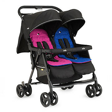 Joie Aire Twin Zwillingsbuggy Pink and Blue