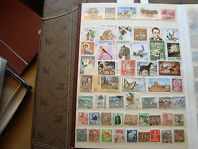 ASIE - 51 stamps canceled (all state) stamp