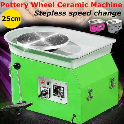 25cm Pottery Wheel Pottery Machine For Ceramic Work Ceramics Clay Foot Pedal Art