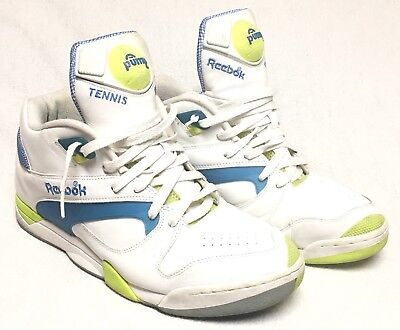 Vintage Reebok Pump Hexalite Tennis Men s Size 13 1990 s Court Michael Chang 6384bbe90