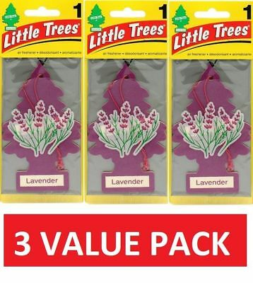 3X Lavender Little Trees Air Fresheners Car Taxi Truck Fragrance Freshener Scent