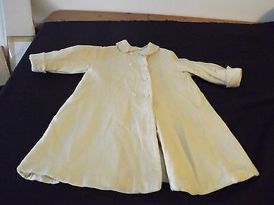VINTAGE MARSHALL FIELDS Antique VictorianBaby TODDLER Embroidered Wool Coat