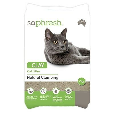 NEW So Phresh Clay Clumping Cat Litter - 14kg