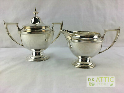 Alvin Antique Sterling Silver Coffee / Tea Set - 2 Pieces - 493.6 Grams