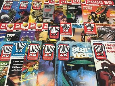2000Ad Comics - Joblot - Bundle - Over 90 Issues - Earliest #245