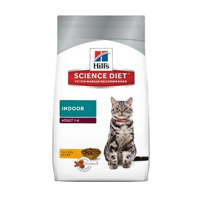 NEW Science Diet Feline Adult Indoor Cat Food - 4kg