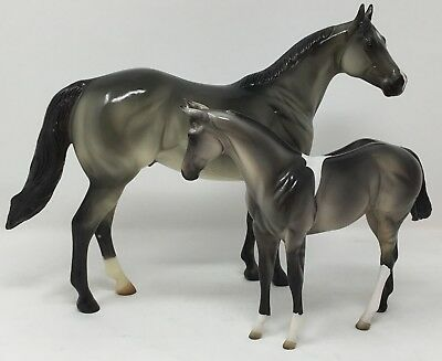 Peter Stone GIGABYTE & KILOBYTE 2000-02 ISH and Weanling Grulla Paint Pinto