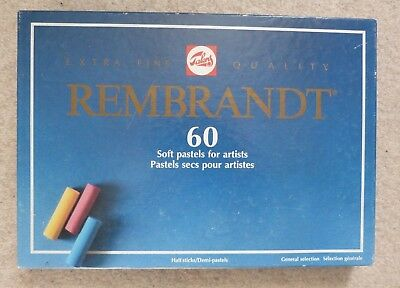Rembrandt, 60 Soft Pastels For Artists