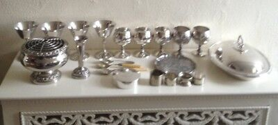 Job Lot Vintage Silver Plated
