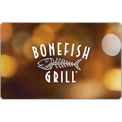 Bonefish Grill Gift Card $25 Value, Only $23.00! Free Shipping!