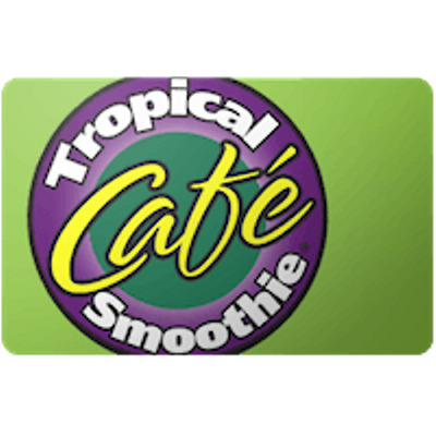 Tropical Smoothie Cafe Gift Card $50 Value, Only $47.00! Free Shipping!