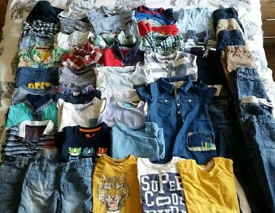 Massive Boys Spring Summer Bundle 18-24 Months Next TU F&F etc 44 Items!