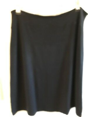 Isabella Oliver Maternity Black Skirt Size 3 jersey material