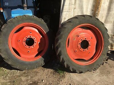 nuffield tractor Wheels & Tyres 12.4-11/36 Leyland